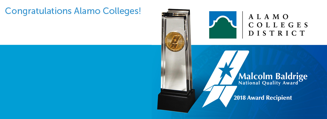 Alamo Colleges District Wins 2018 Baldrige